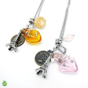 LIBRA CONSTELLATIONS ZODIAC SIGNS AROMA VIAL NECKLACE 1