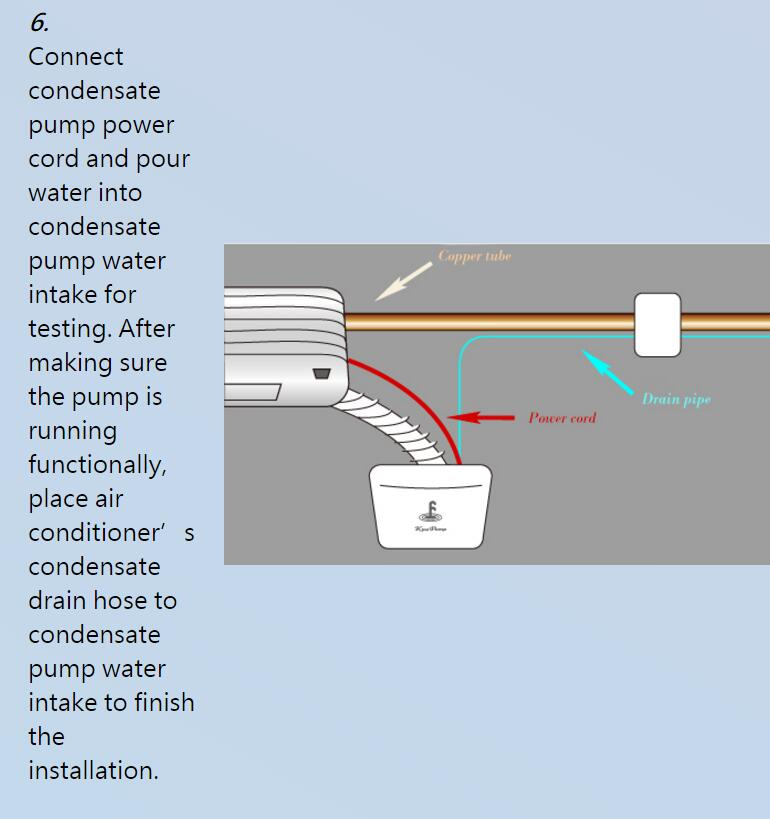 kingpump condensate pump condensate removal pump 36 000b t u rh idealez com Condensate Pump Installation Air Conditioner Condensate Pump