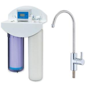 2 stage Drinking water system W/Electronic flowmeter & Fauce