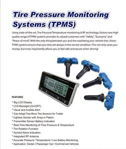 Car Tire Pressure Monitoring Systems