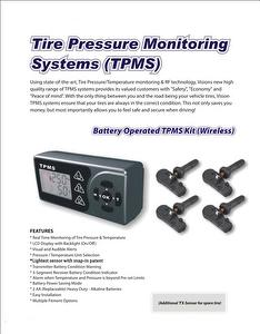 Wireless Tire Pressure Monitor System