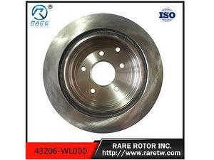 Brake rotor for nissan car