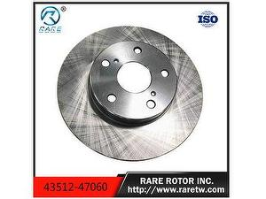 Brake discs /Brake rotor for toyota car