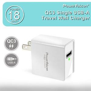 PowerFalcon 18W QC3.0 Wall Charger USB-A Port