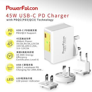 45W PD USB-C Interchangeable charger