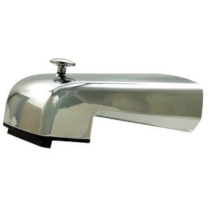 Cascade Tub Spout with diverter waterfall spray