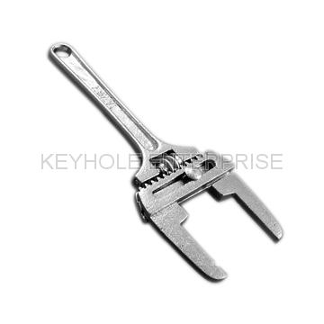 Adjustable Combination Spud / Sink Wrench on KEYHOLE ENTERPRISE CO
