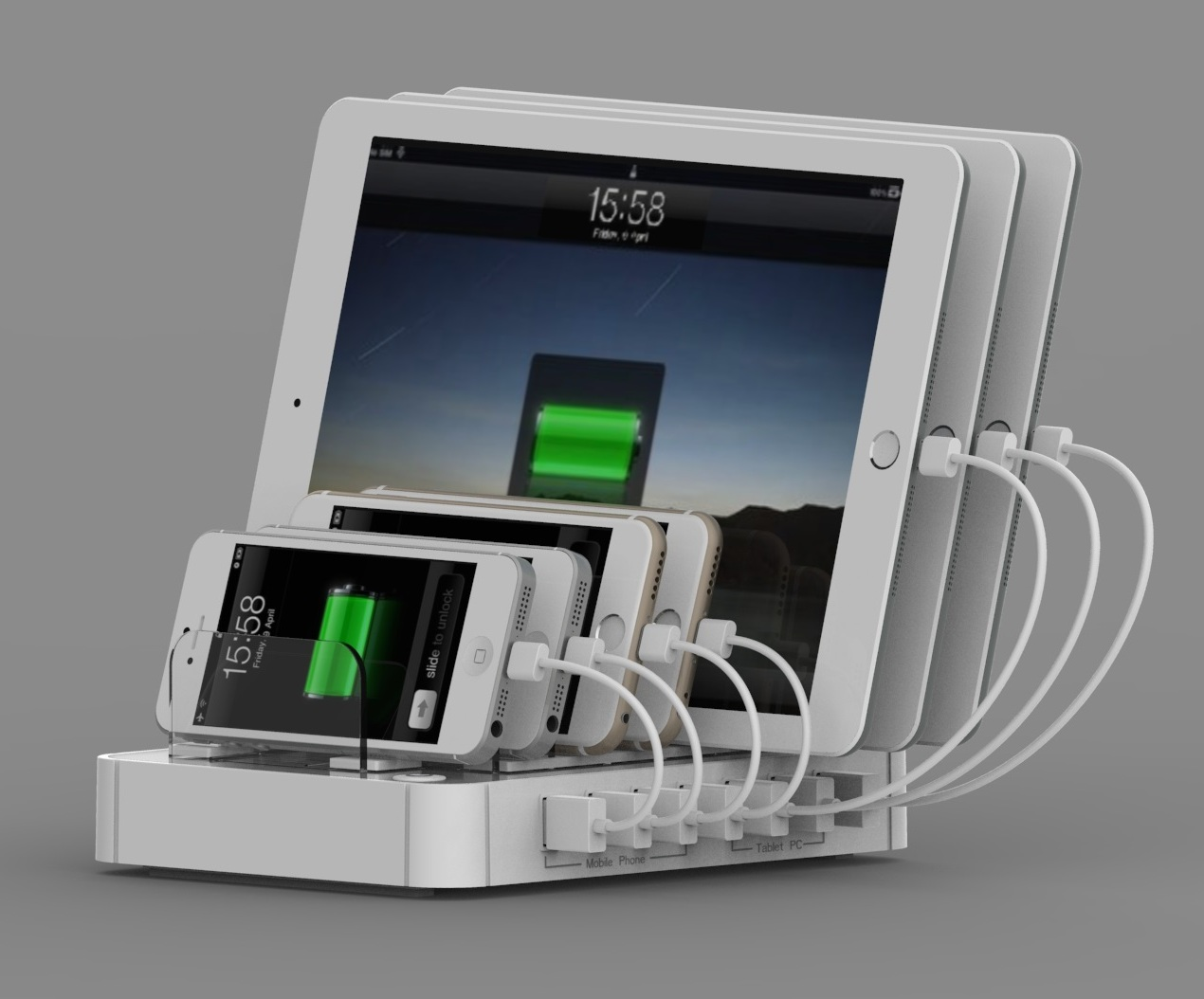 7 Port Usb Charger Station|consumer Electronics