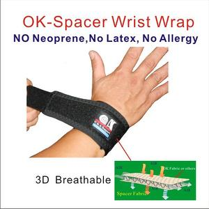 Breathable innovative OK Spacer Fabric Wrist Support