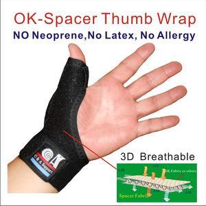 吸汗・速乾・通気性・伸縮性 腱鞘炎親指用のサポーター