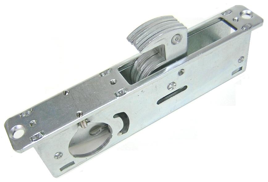 28 6mm Backset Narrow Stile Door Lock For Aluminum Door