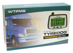 Truck TPMS with 6 wheels