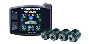 TPMS with vibration sensor by TYREDOG