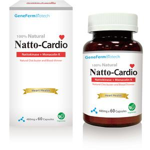 Natto Cardio, Cardiovascular health Natto red yeast rice