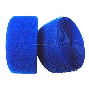 #131 Light Royal Blue Sew on Hook and Loop Fastener Tape
