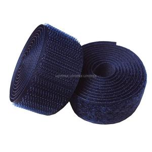 1 inch #180 Navy Blue Sew on Hook and Loop Fastener Tape