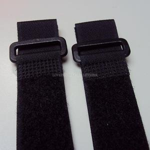 【 Hook and Loop Cinch Strap】(Black) (25mm x 50/70/95cm)