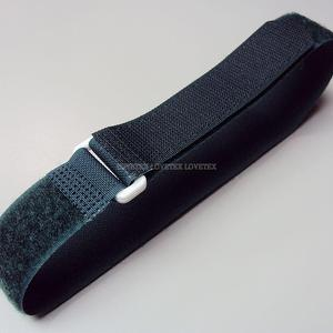 25mm x 50/70/95cm Green Hook and Loop Cinch Strap