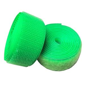 #193 Liminous Green Sew on Hook and Loop Fastener Tape