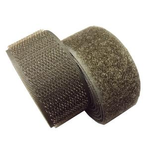 1 inch #140 Olive Sew on Hook and Loop Fastener Tape