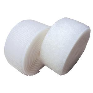 1 inch #990 White Sew on Hook and Loop Fastener Tape