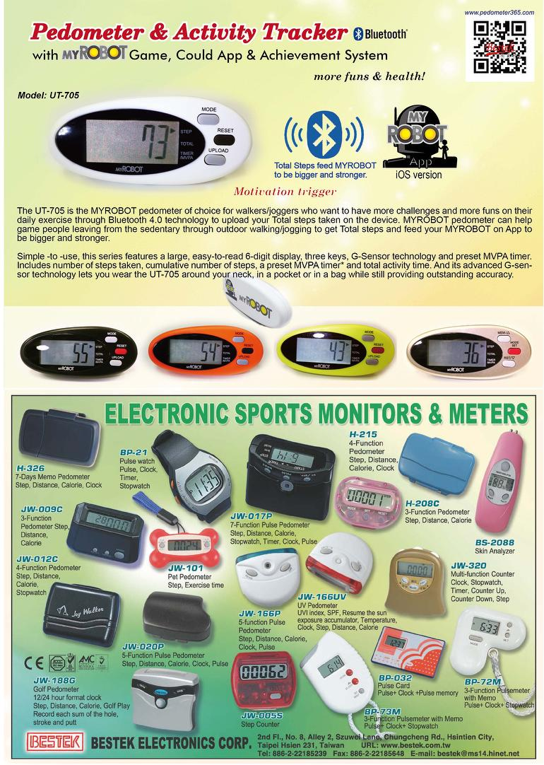 bestek pedometer product list